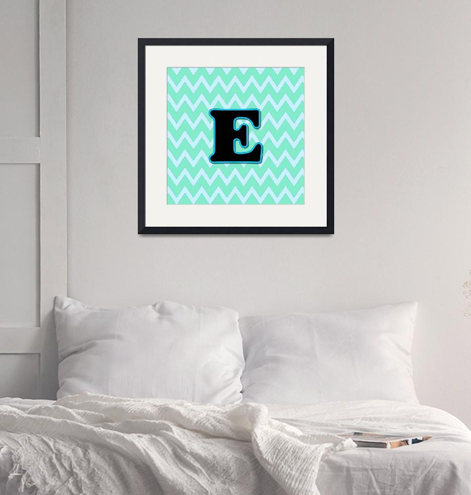 """""""Letter E""""  (2015) by paintingsbygretzky"""
