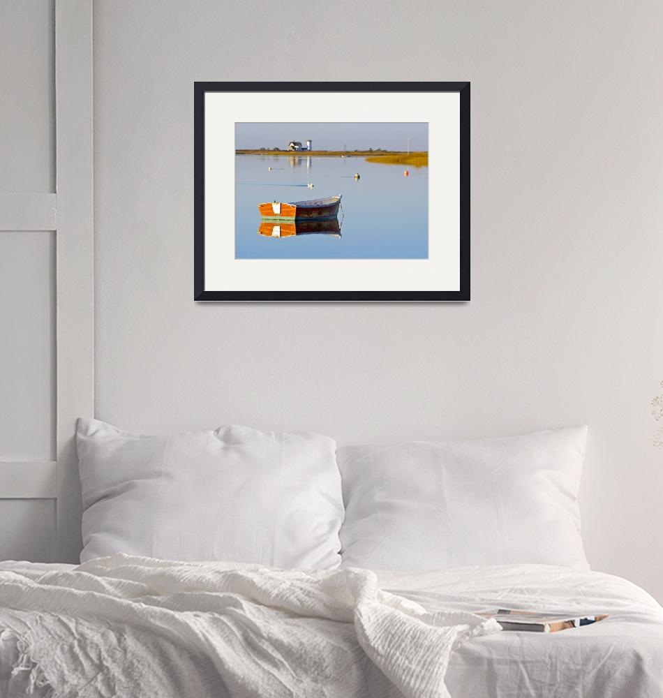 """""""Sunrise at Stage Harbor""""  (2015) by ChrisSeufert"""