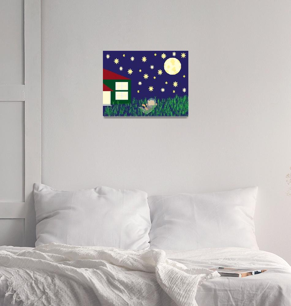 """""""Dreaming of Space""""  (2011) by ValeriesGallery"""