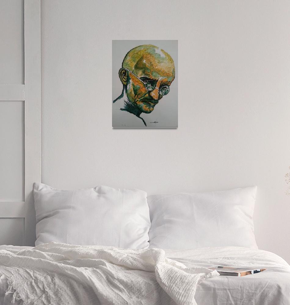 """Gandhi""  (2013) by AllPointsBulletin"