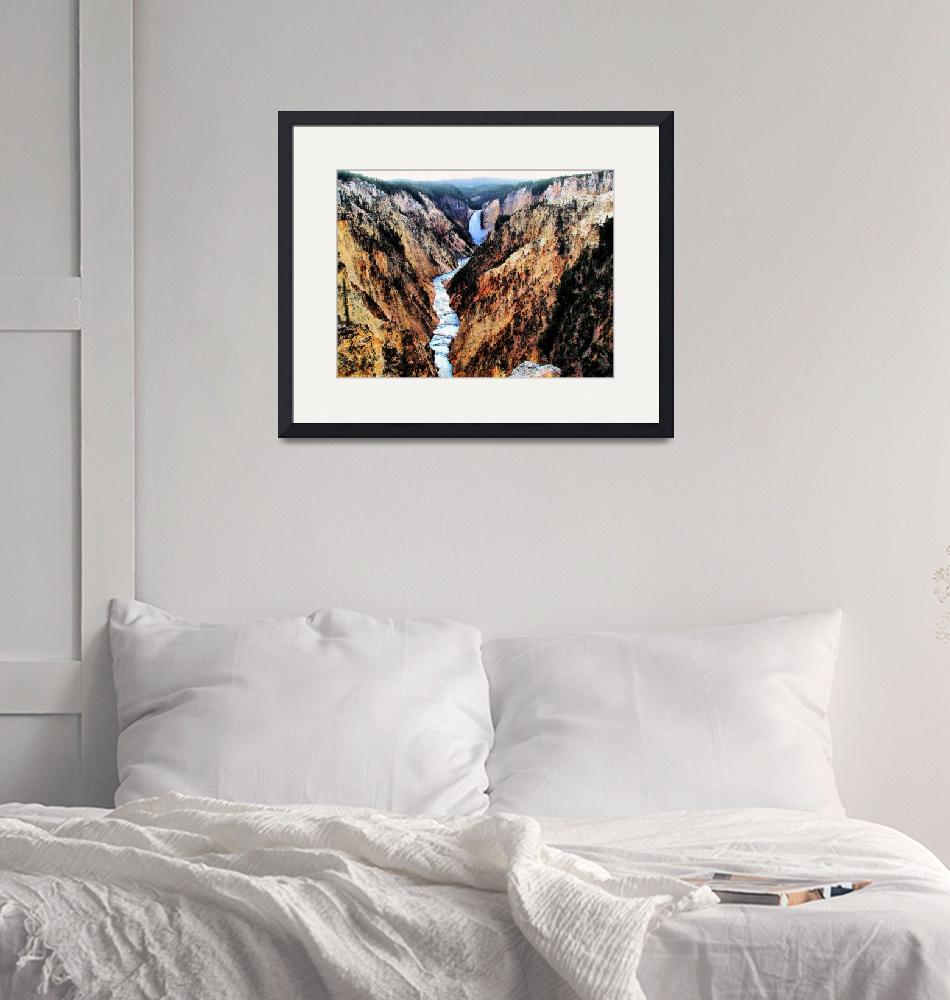 """""""Grand Canyon of the Yellowstone06""""  (2005) by NWExposures"""