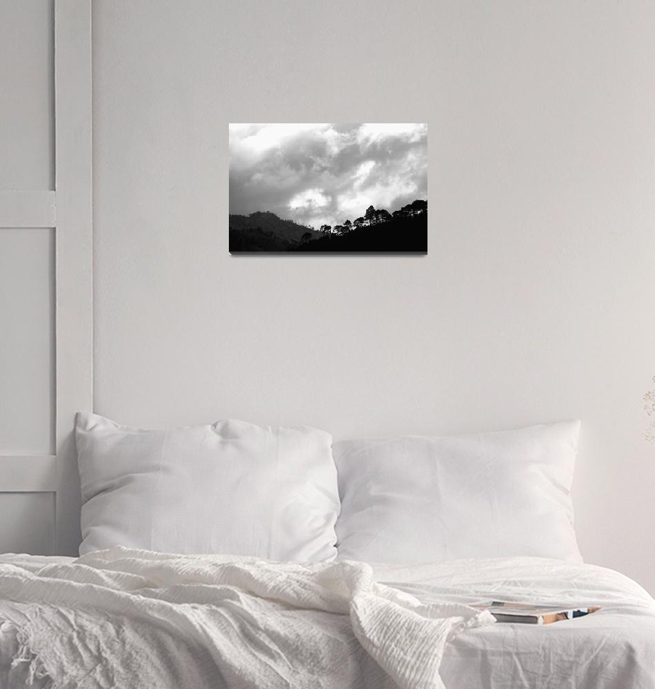 """Mountain Range 1""  (2011) by SkipNall"