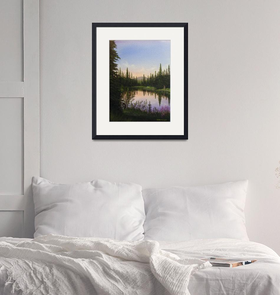 """Payette Lake #1""  (2009) by rsummers"