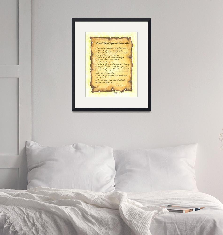 """""""Parents Bill of Rights""""  (2007) by tglover"""