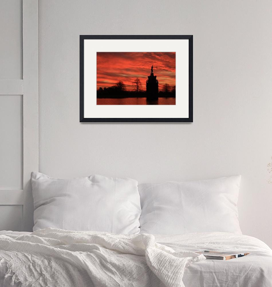 """""""Sunrise Silhouette""""  (2009) by 4orty7even"""