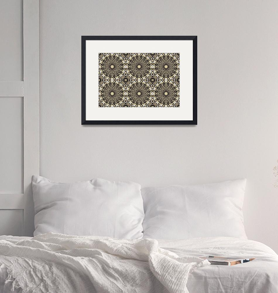 """""""Art ZIZZAGO Pearl Collection BIG13-tile""""  by shanmaree"""