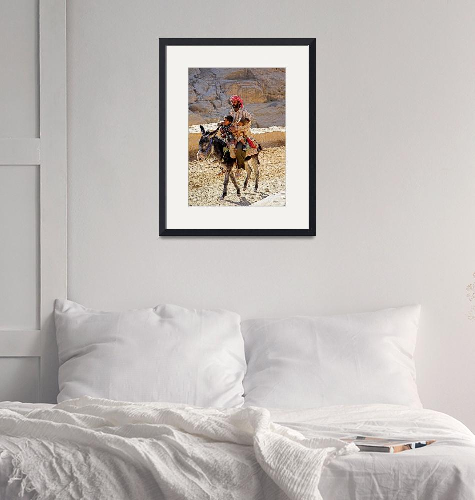 """""""Donkey and riders""""  by Dalyn"""