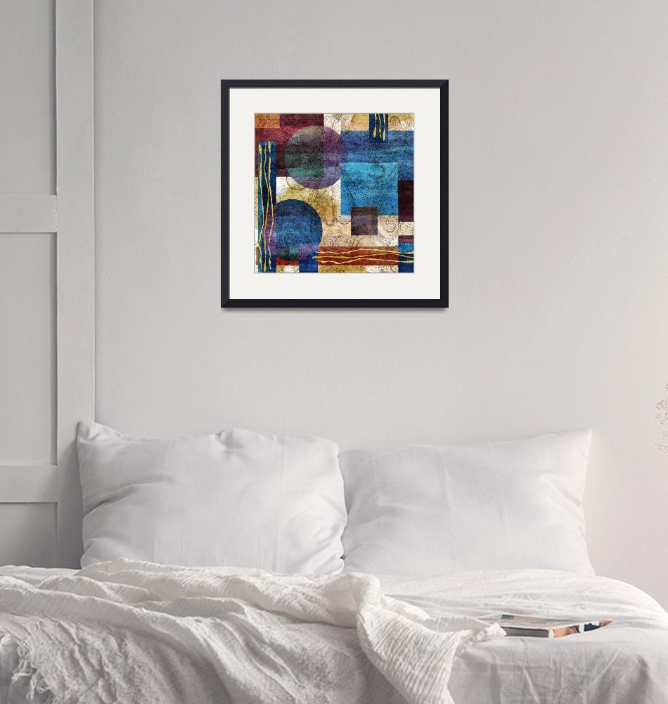 """""""abstract geometric""""  (2012) by NickBiscardiArt"""