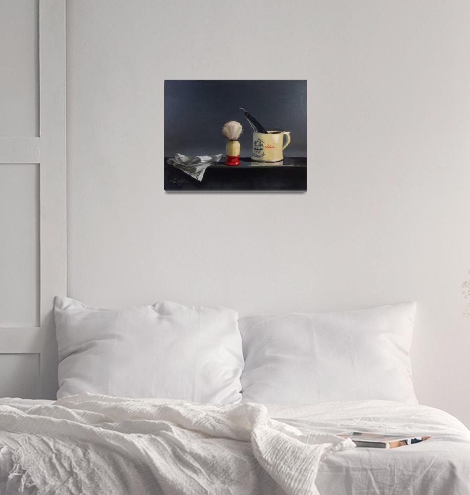 """""""Mug and Brush""""  (2012) by SylviaCooley"""