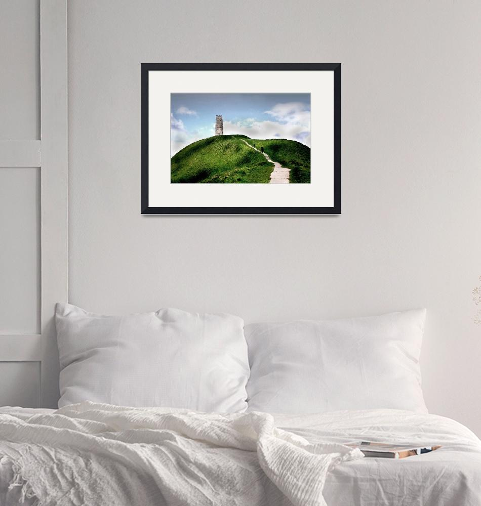 """Glastonbury Tor""  (2007) by andy-coleman"