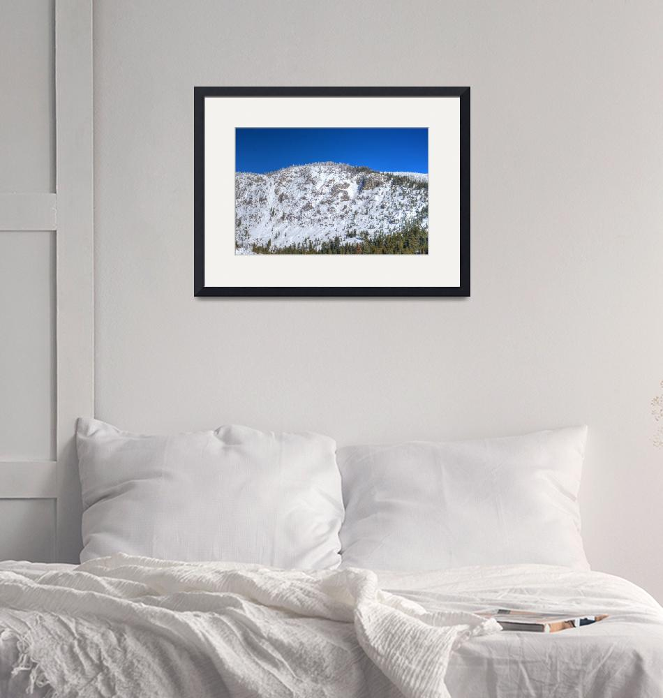"""""""Snowy Mountain""""  (2016) by DiegoRe"""
