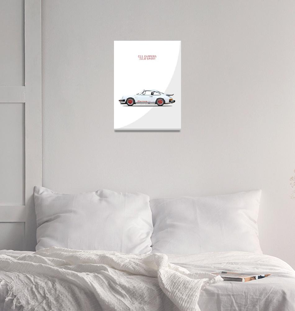 """911 Carrera Club Sport""  (2017) by mark-rogan"