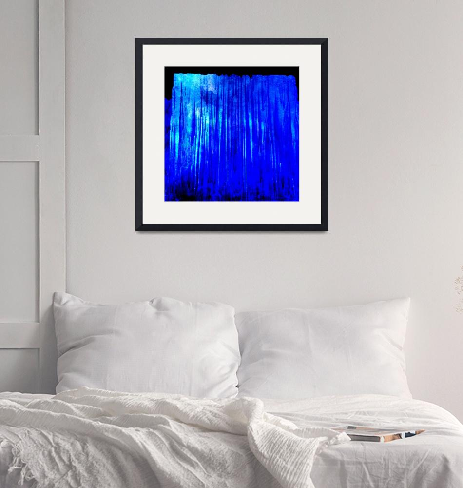"""""""Icy Blue 2""""  (2018) by MsCJRideout"""