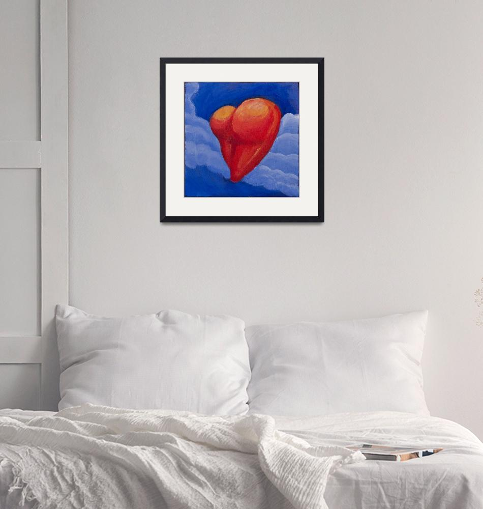 """""""Heart Shaped Butt in the Clouds""""  (2010) by mordemed"""