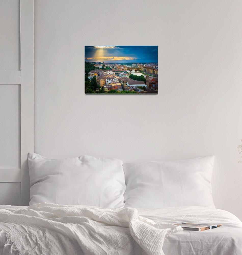 """Firenze Sunset""  (2013) by Inge-Johnsson"