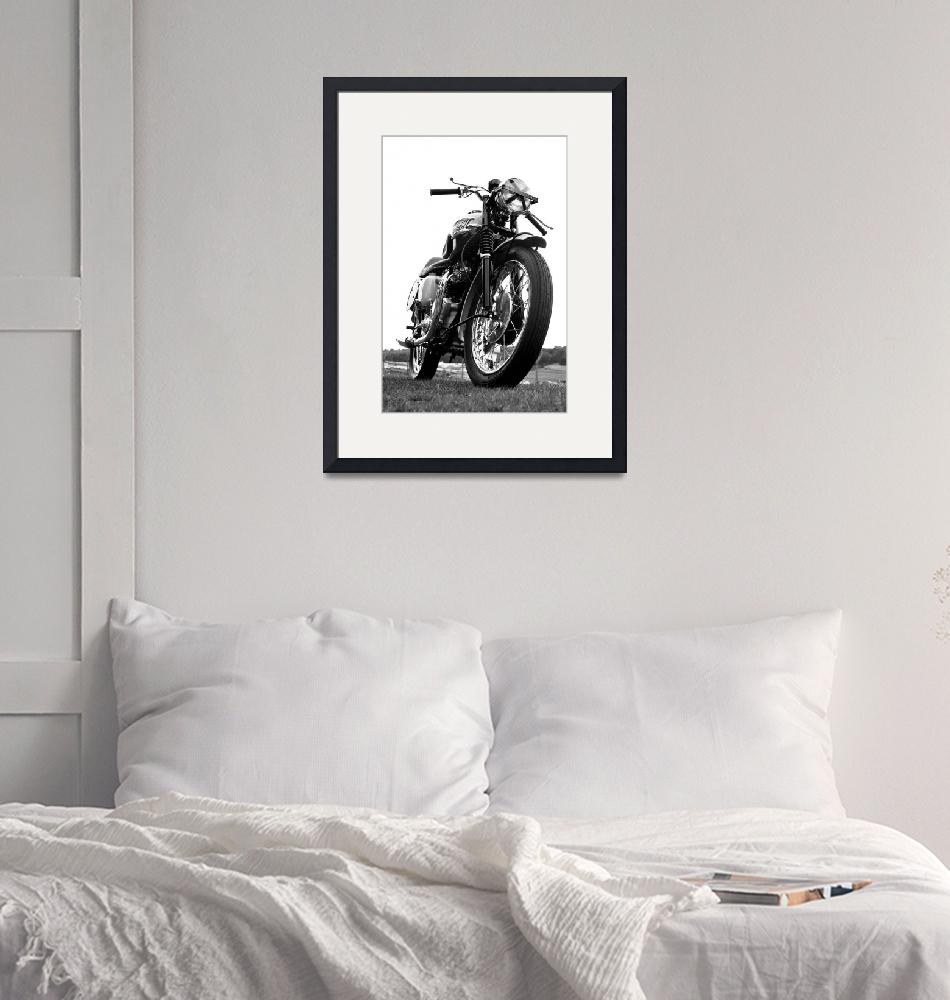 """""""The Race Day Motorcycle"""" (2016) by mark-rogan"""