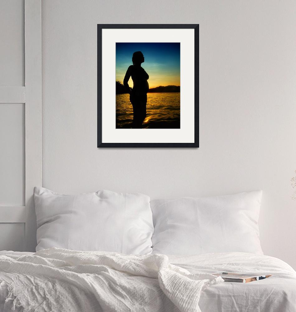 """""""Silhouette of my Love""""  (2009) by gilbertrondilla"""