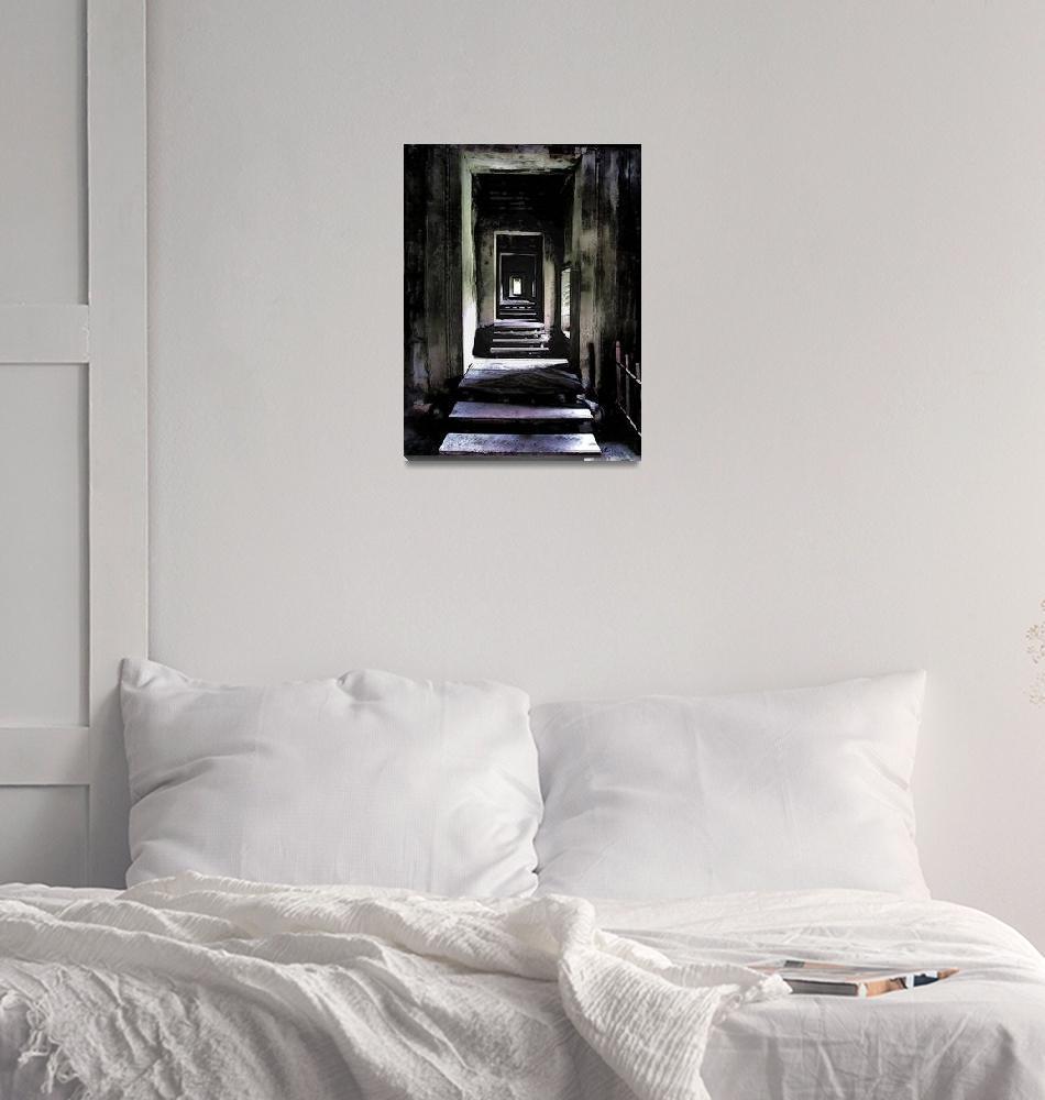 """Ghostly Passage""  (2011) by Markomarko"