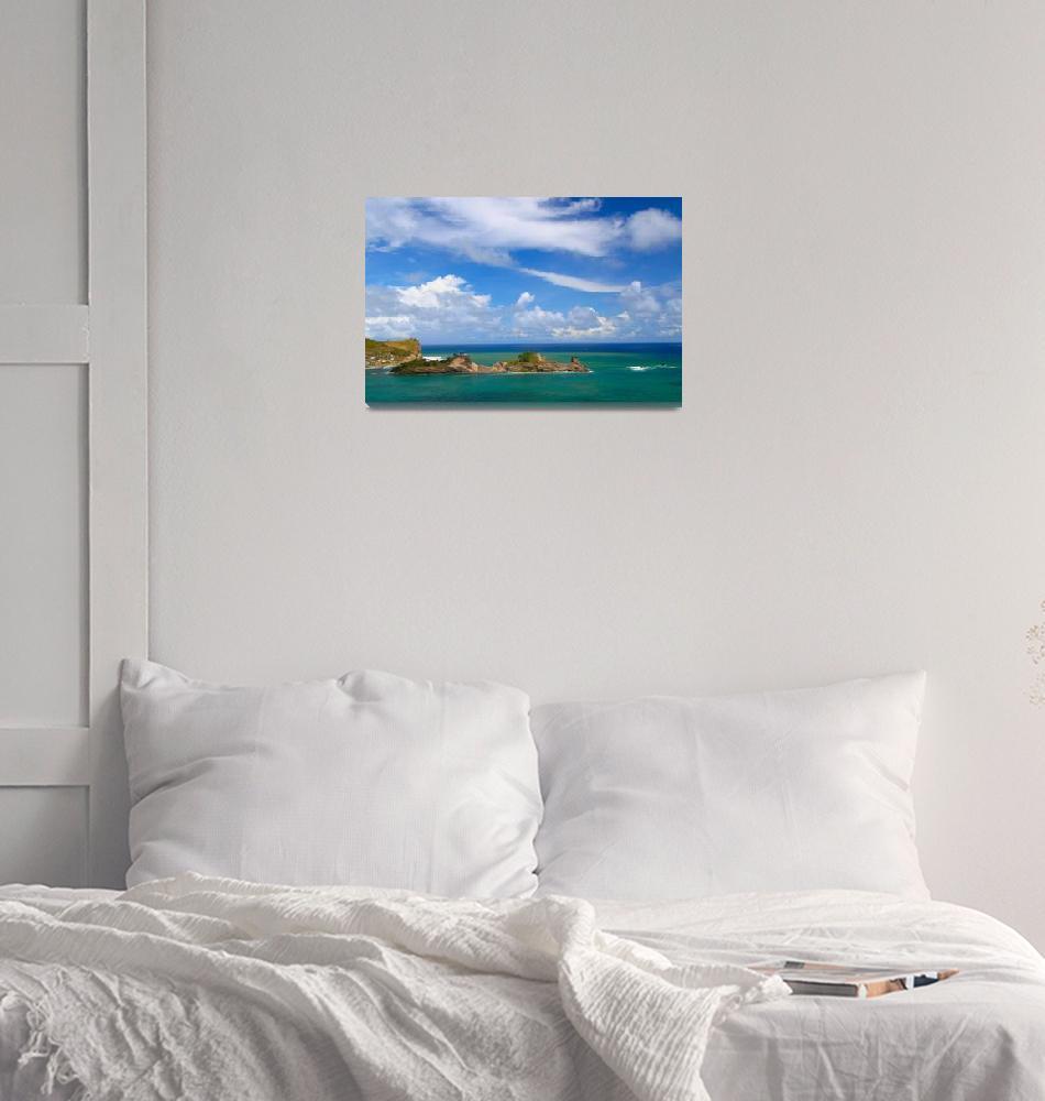 """Dennery Bay - Saint Lucia""  (2009) by kishwild"