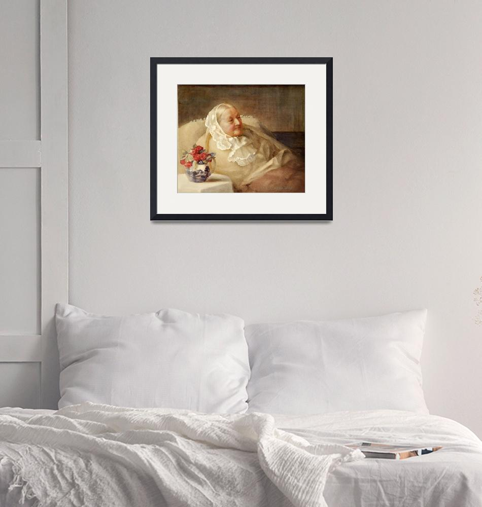 """""""Florence Nightingale, 1907 (watercolor)"""" by fineartmasters"""