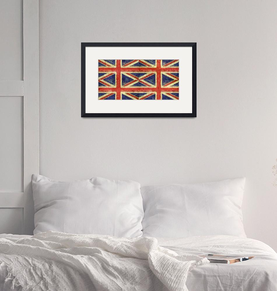 """""""British Flag Collage Two""""  (2016) by Michelle1991"""