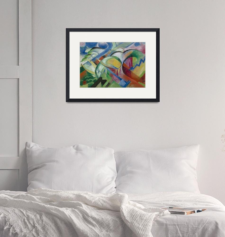 """Franz Marc The Sheep""  by FineArtClassics"