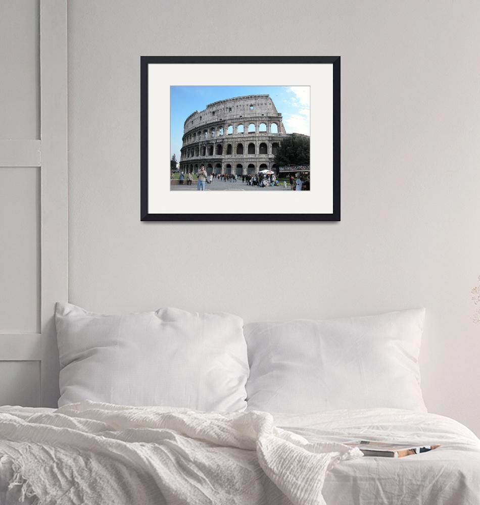 """""""il colosseo""""  by martinographics"""