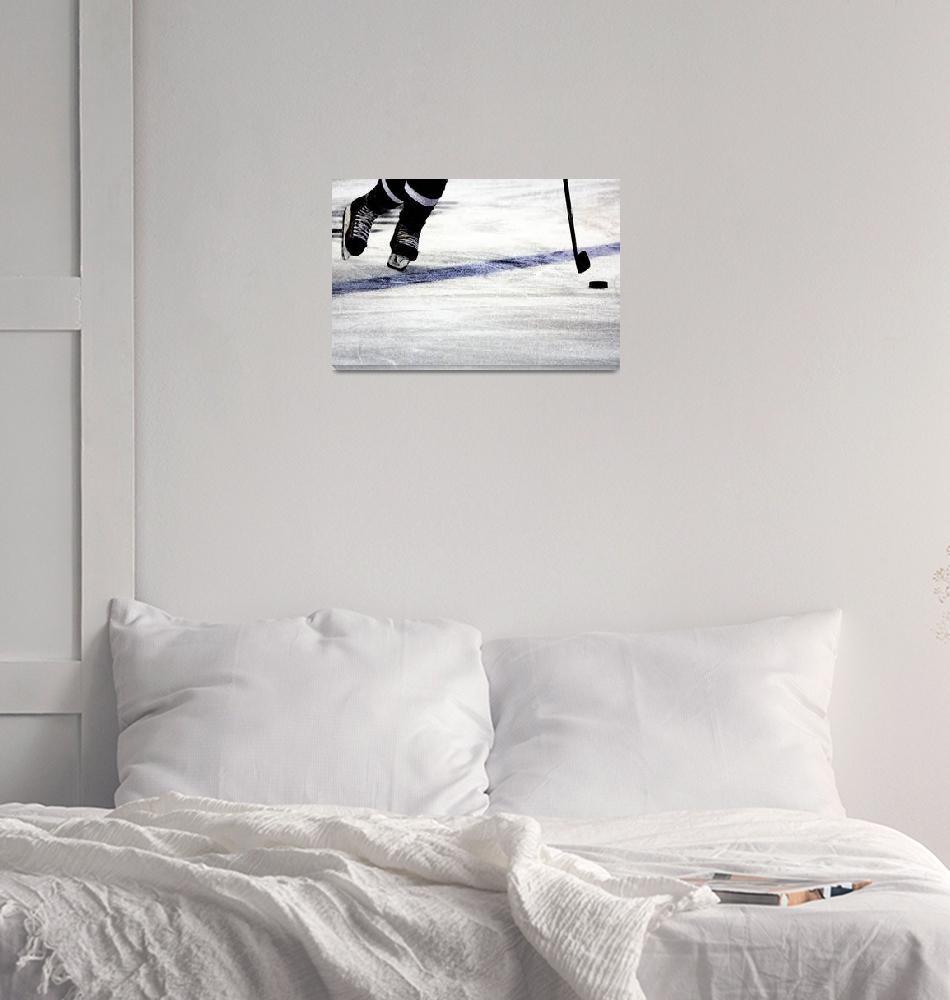 """He Skates""  by karolsstuff"