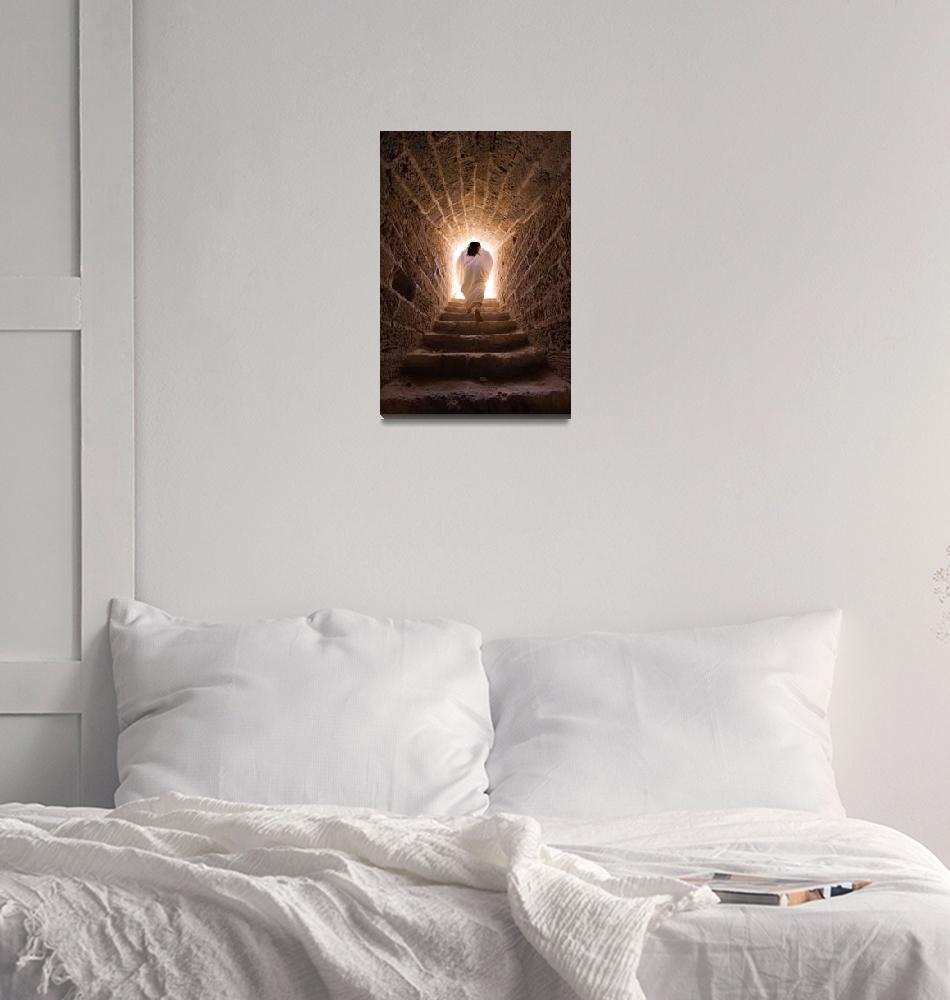 """""""Resurrection of Jesus""""  (2009) by kreicher"""