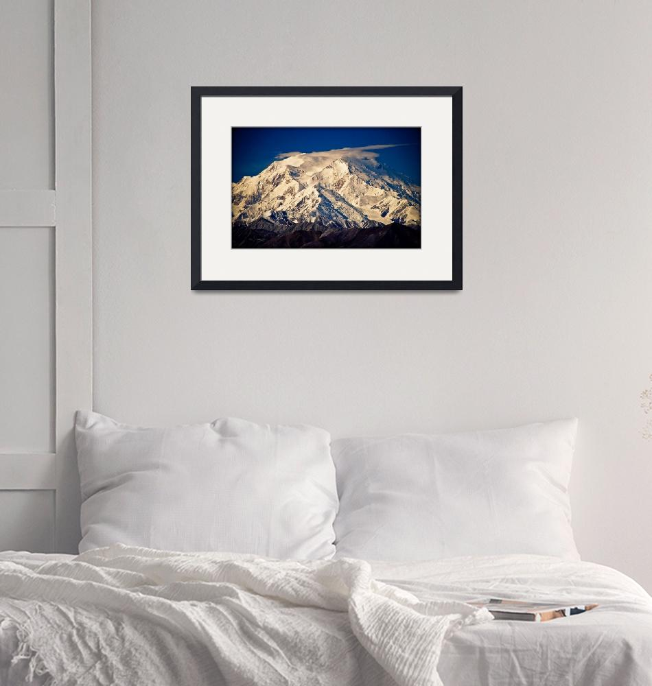 """""""Denali (Mount McKinley) from Eielson visitor centr""""  (2003) by ExposedPlanet"""