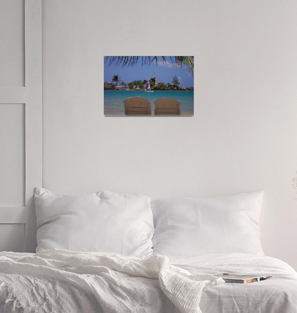 """""""Beach Pair""""  (2004) by BeckyLynette"""