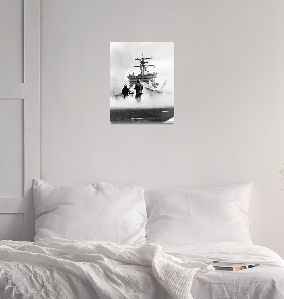 """USS Constellation (CV-64) DN-SN-84-10134""  (1984) by iShip"