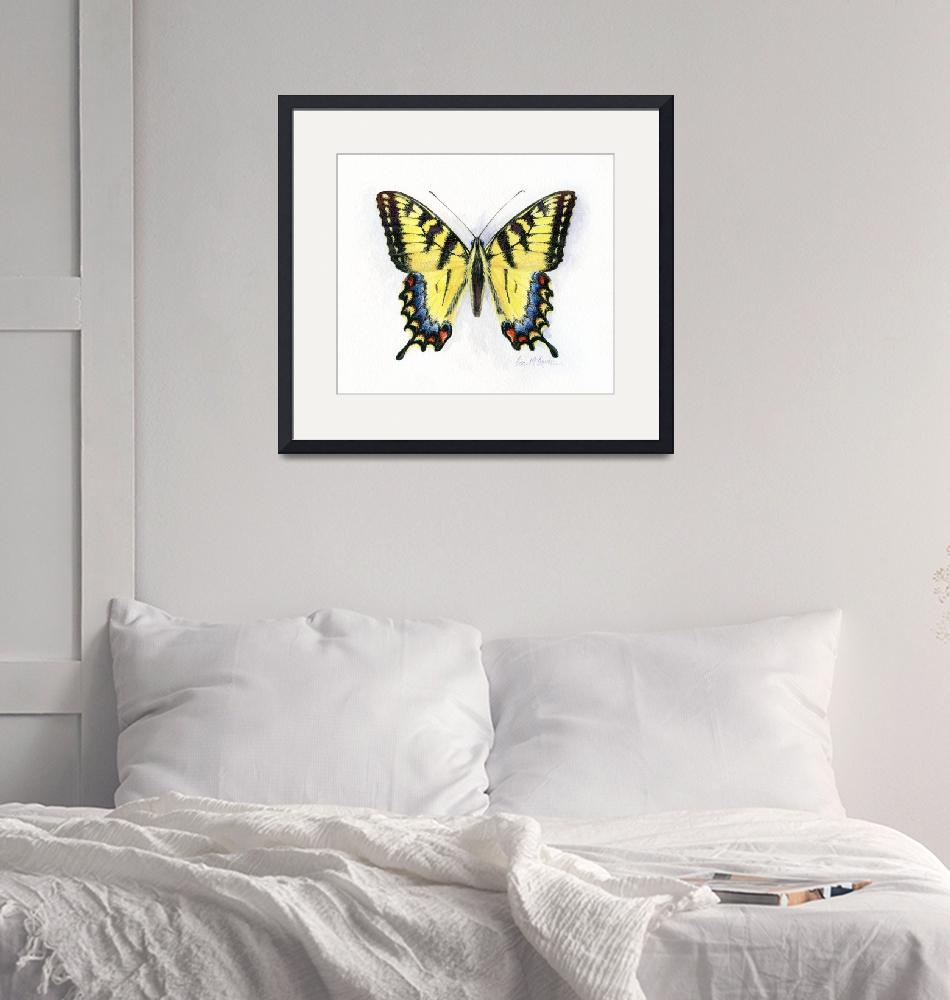 """western tiger swallowtail""  (2008) by LisaMclaughlin"