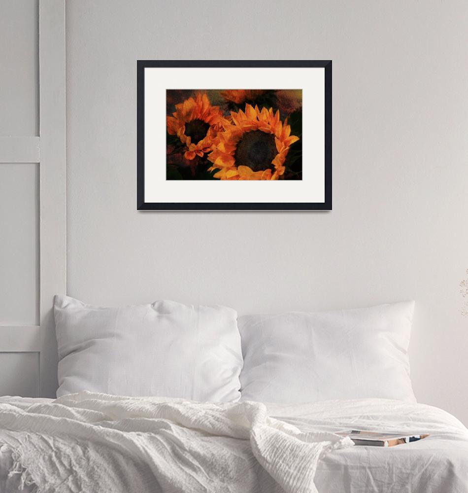 """""""Sunflowers"""" (2007) by AnnG"""