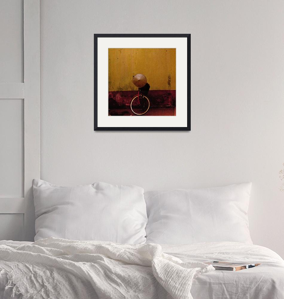 """""""Bicycle and hat""""  (2008) by reneehoward"""