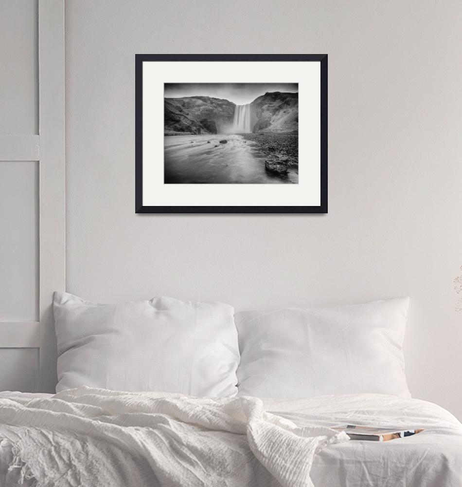 """""""Skógafoss""""  (2014) by PadgettGallery"""