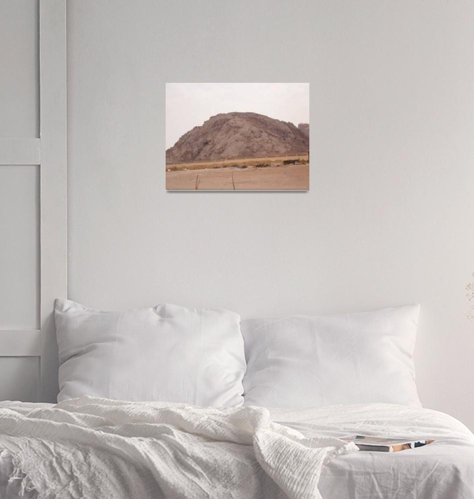 """""""ksa mountains""""  (2017) by AHMEDELOSS"""