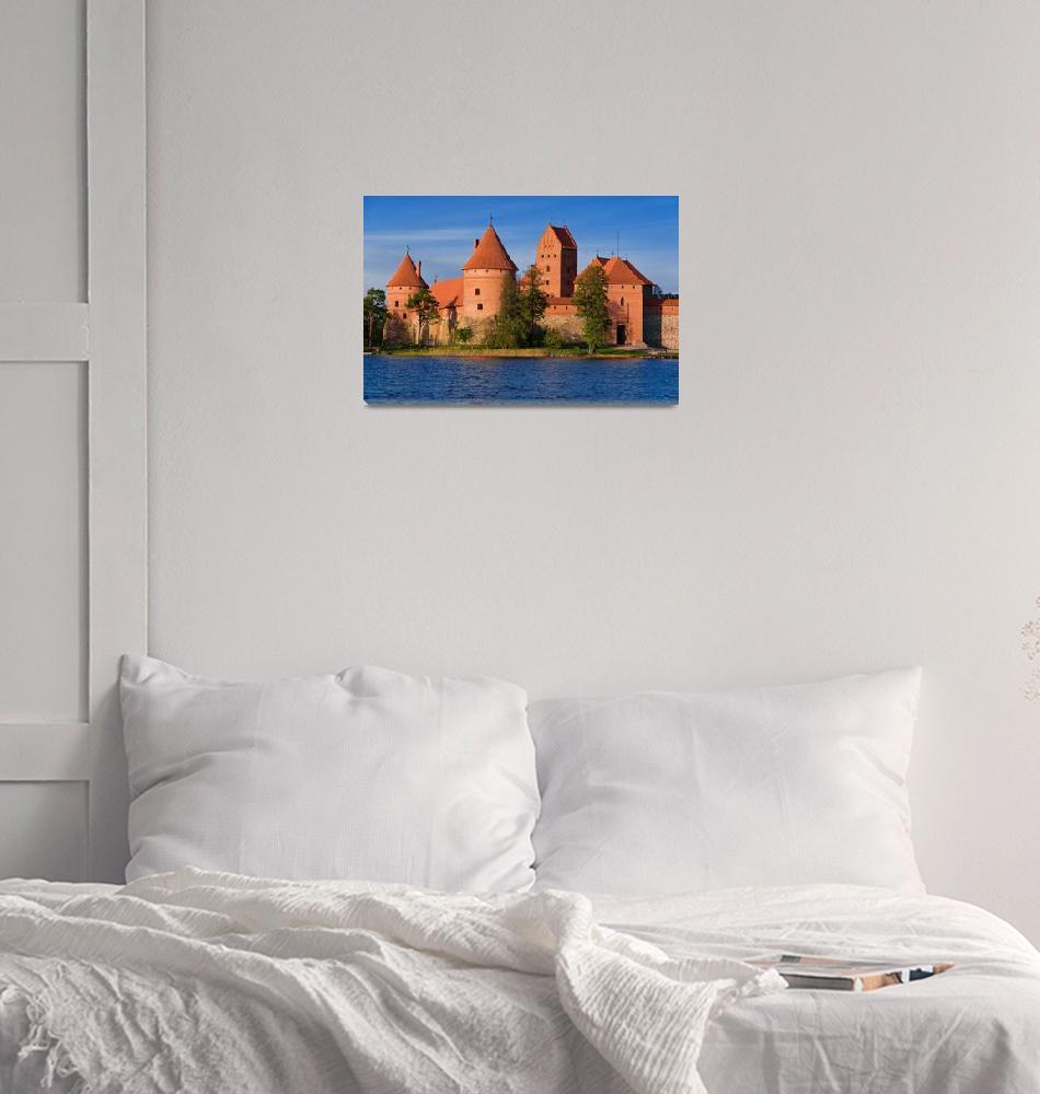 """Trakai Castle""  (2007) by linask"