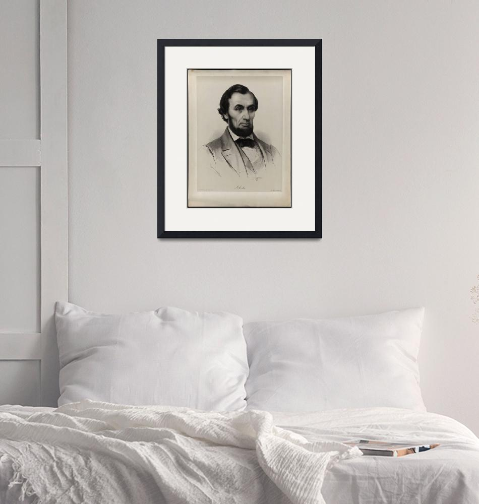 """[Lassalle portrait of Lincoln""  by motionage"