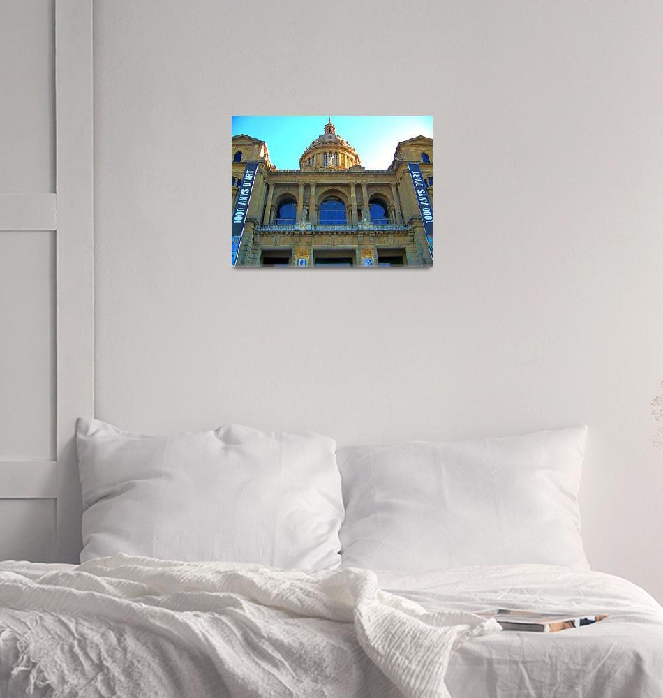 """Palau Nacional(Barcelona)""  (2007) by cripto"