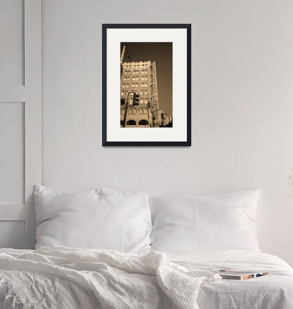 """San Francisco Hotel Pickwick 2007""  (2007) by Ffooter"