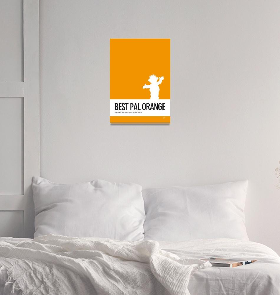 """""""No32 My Minimal Color Code poster Ernie"""" by Chungkong"""