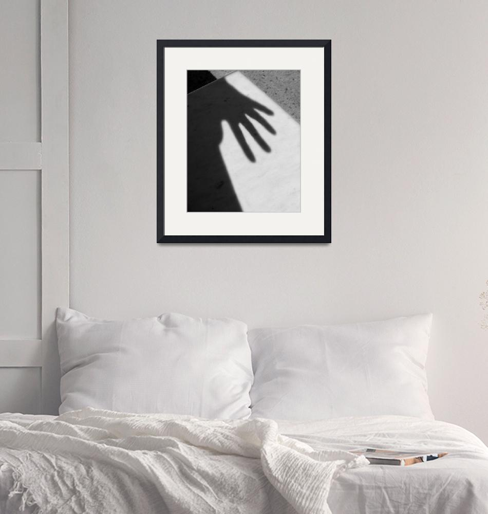 """""""Hand Shadow on Marble""""  (2009) by bhneely"""
