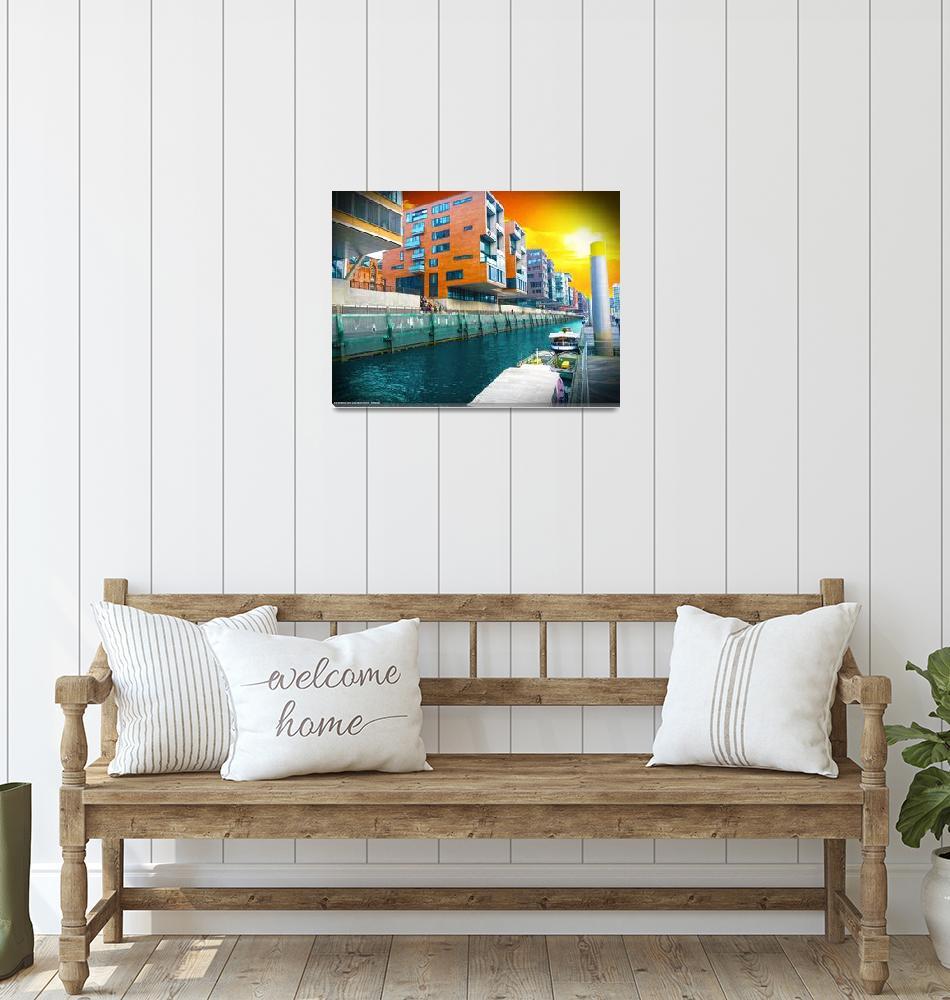 """""""Hafen City 01""""  (2015) by ErikTek"""