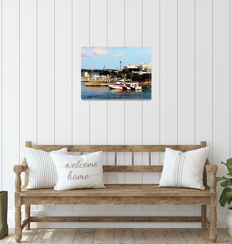 """""""Caribbean - Dock At King"""