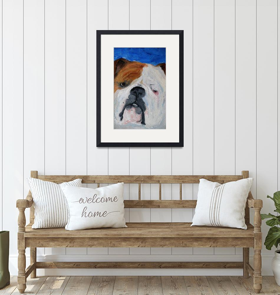"""Baby the Bulldog""  by DeborahSprague"