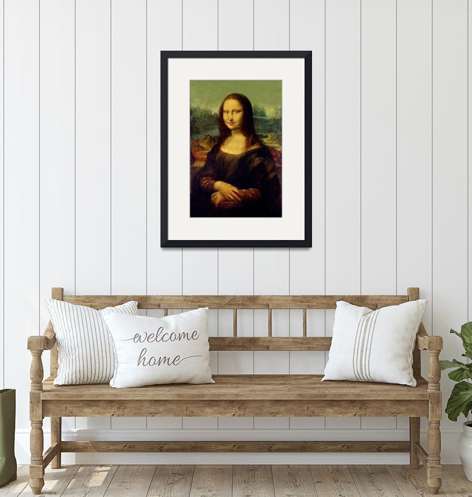 """MonaLisa Reproduction""  by reproductions"