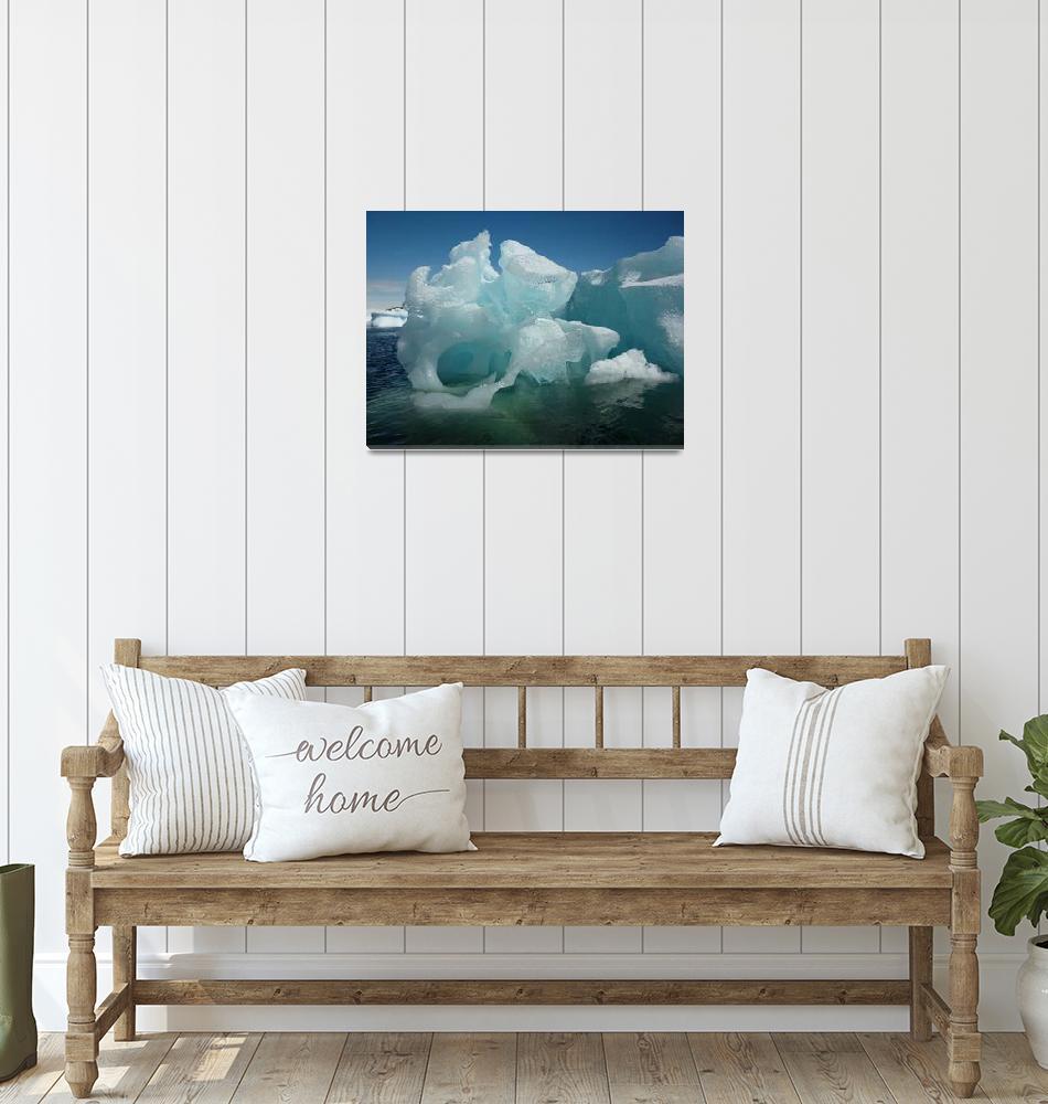 """Antarctica Iceberg P1010607""  (2012) by FindleyPhoto"