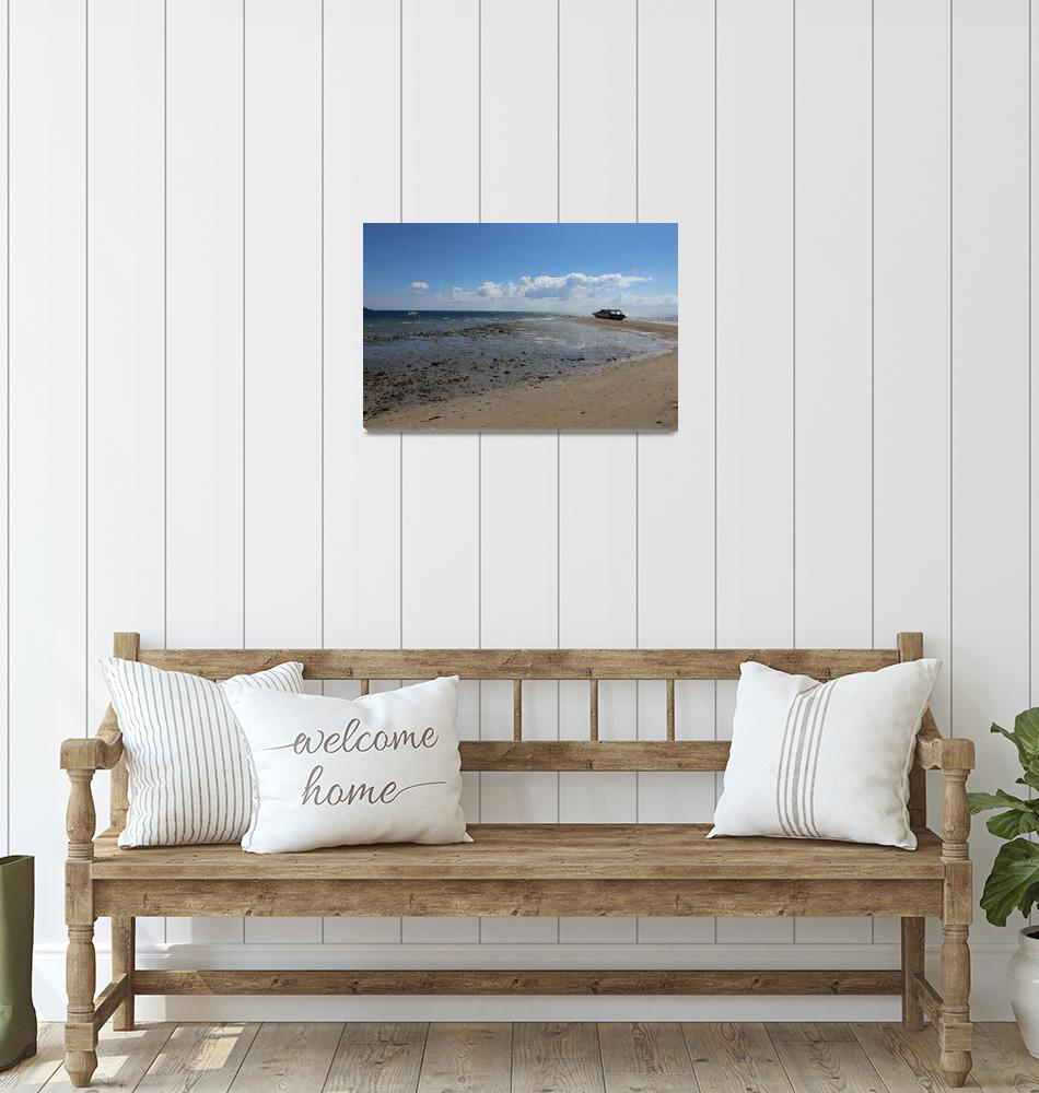 """Tropical Fiji Beach""  (2014) by mpaskvan"