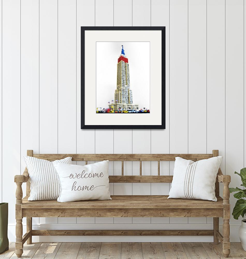 """Empire State Building""  (2008) by seankenney"